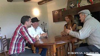 Colombian Girl Meet Boyfriend's Father