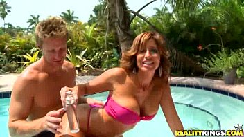 Tara is ready to mingle in Wet Holiday by MilfHunter tumblr xxx video
