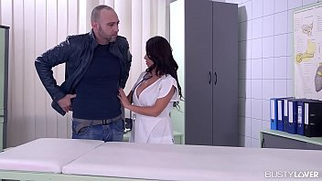 Busty lovers at hardcore clinic take titty fuck advice by Doc Susana Alcalá 20 min
