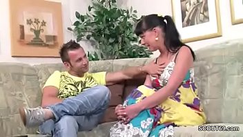 Step Bro Seduce German Sister To First Fuck With Dick