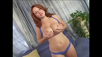 Sexy Ginger PAWG Rebecca Lane Goes Wild And Rides A Big Hard Cock