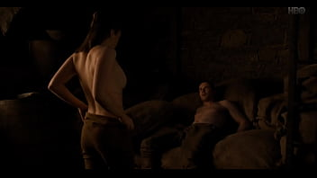 Maisie Williams Sex Scene from GoT s08e02