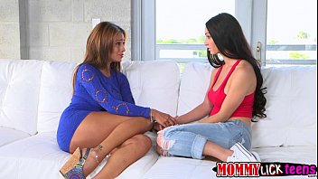 Milf crystal cairt - Cyrstals sweet teen pussy gets licked by her mom jamie