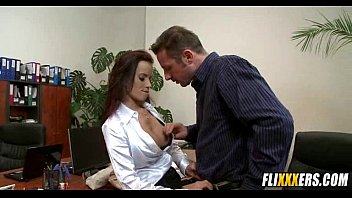 Babe Takes Her Bosses Cock For Promotion