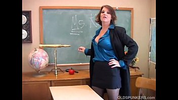 Old sexy teacher Sexy old spunker teacher loves to fuck her juicy pussy for you