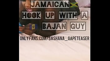 Jamaican hooked up with discreet Bajan guy for pegging session porno izle