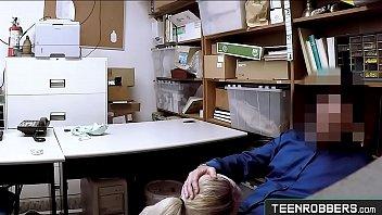 Petite Teen Lier Lexi Lore Get Banged In A Officer's Desk - Teenrobbers.com