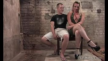 Kinky Domina Fucks Her Slave