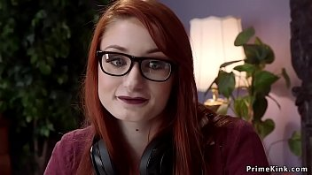 Master anal fucks maid and redhead babe