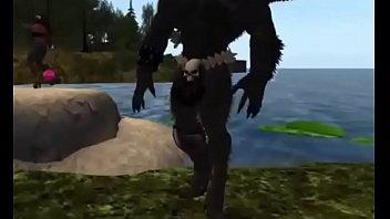Wolf in dance