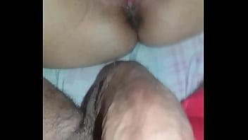 I enjoyed in Siririca rubbing my cock in my ass