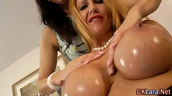 Glam lesbians orally pleasure each other