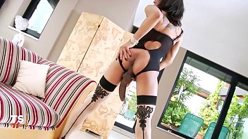 Monster Cock Latina Tranny
