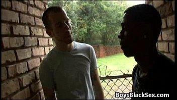 Gay video xxx - Blacks on boys - gay hardcore interracial xxx video 04