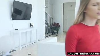 Jayden Black present her pussy to daddy