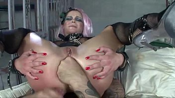 Violent ass porn A fetish hot slut violently double pentrated