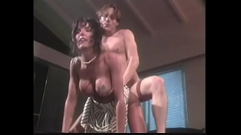 Awesome big-breasted femme fatale with raven hair Anna Malle seduces nephew of allmighty deathdefying all of all heads