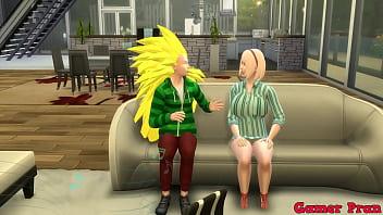 Hinata y sus amigas Cap9 sakura y hinata habla de como les gusta follar radi les propone un gran trio terminan follando sobre la mesa le termina adentro