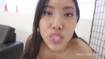 DAP and Squirt, May Thai, 4on1, ATM, DAP, Gapefarts, Gapes, Squirt, Creampie Swallow, Cum in Mouth, Swallow GIO1879