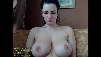Russian huge boobs babe orgasm