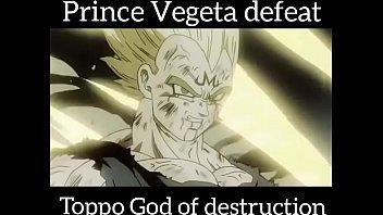 Prince vegeta defeat toppo ?