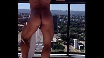 Butt fucking gay hard man pic - Francois sagat balcony
