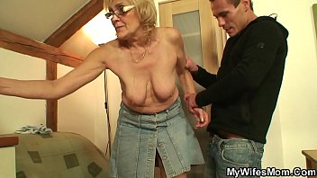 Mom caught fucking my friend Fucking my wifes old mother