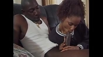 Black stud fucks a girl in cunt and ass with his massive cock then creams her porno izle