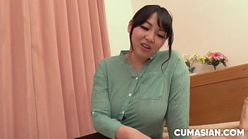 Japanese Mom With Huge Tits Gives Massage With Happy Ending [Uncensored]