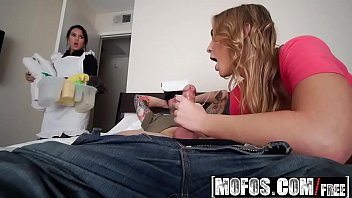 Image: Mofos - Share My BF - Maid Helps with Cock Cleaning