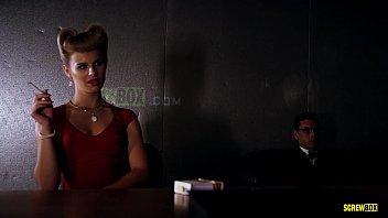 """SCREWBOX - Jillian Janson in """"REPLICA"""" Threesome teen double penetration"""