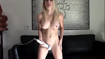 Blonde Hitachi Orgasm -Watch Part 2 at FilthyGeek.com