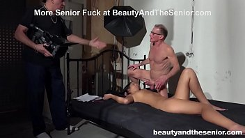Senior Citizen Fucks Up his First Porn