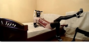 """Amateur kinky crossdresser Ally in latex prepares for games sex machine Part 1 <span class=""""duration"""">11 min</span>"""
