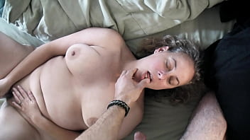 Sexy Cheating Wife MILF Fucks Neighbor Mature BBW Big Tits Hairy Kaitee Banggs