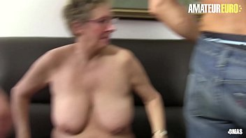 AMATEUR EURO - German BBW Grannies Are Taking Cock In Hot Foursome (Angelika J. & Maria D.)