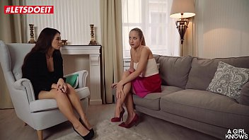 LETSDOEIT - Lesbian Teen Is So horny That Seduces the Therapist (Tiffany Doll & Sicilia Model) 10 min