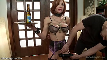MILF in interracial anal pile driver