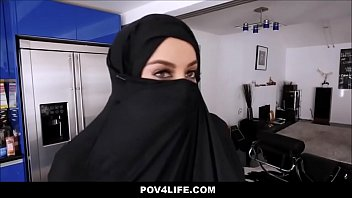 Busty Arabic Muslim Teen (Victoria June) Cheats On Her Husband While Wearing A Hijab - TeamSkeet thumbnail