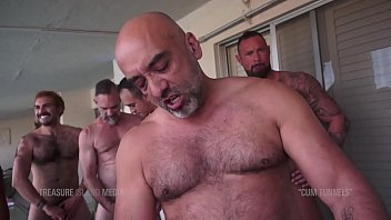Horny gay shaved men - Slim bitch get his hole wrecked