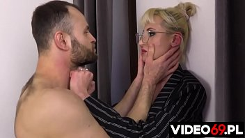 Polish porn - Curator MILF forced by horny criminal