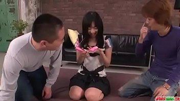 Exclusive Group Porn Along Young Nozomi Hazuki