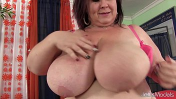 Huge mature boobs tgp Huge boobed mom stuffs herself with a cucumber