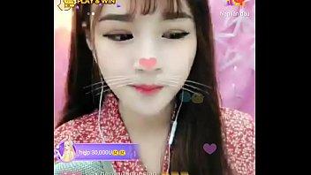 Hotgirl Ngoc Min livevstream Uplive 2 min