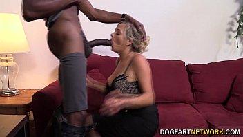 Dick hungry milfs - Milf lexxi lash having her first interracial fuck at dogfart network