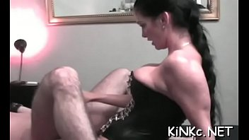 Solo paly and foot worshipping