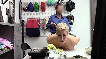Punishing Blonde Hot Milf Ryan Keely Hard Because She A Thief