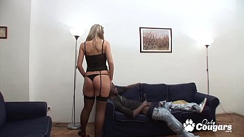 Kathy Sweet Sucks Her Ass Juice Off A Black Dong - Anal