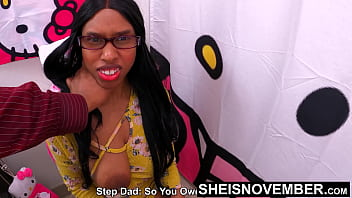 My Seedy Black FatherInLaw Needed Pussy, So I Gave It. Msnovember Secrete Doggystyle Fuck, Hiding In Bathroom During Taboo Fucking Innocent DaughterInLaw Young Black Pussy & Big Tits Point Of View, Old Young Sex on Sheisnovember by JDG Pornart