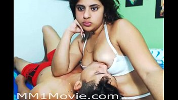 Indian Girl Breastfeeding Her Boyfriend (MM1Movie.com)